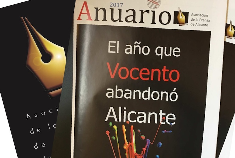 Portada Anuario Asociacion Prensa Alicante 2017