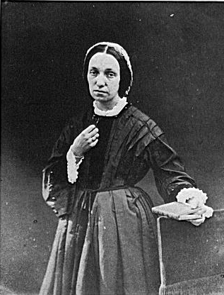 Autorretrato de Julia Cameron. Foto de Wikimedia Commons