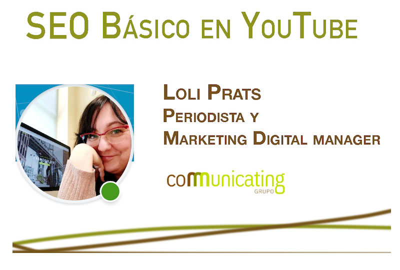 Cartel curso Seo YouTube